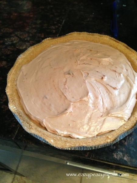 creamcheese chocolate pie