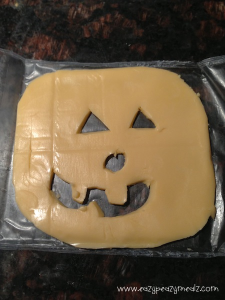 cheese jack o lantern