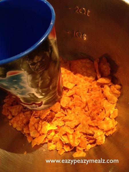 crushed doritos