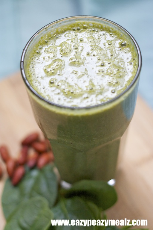almond milk green smoothie