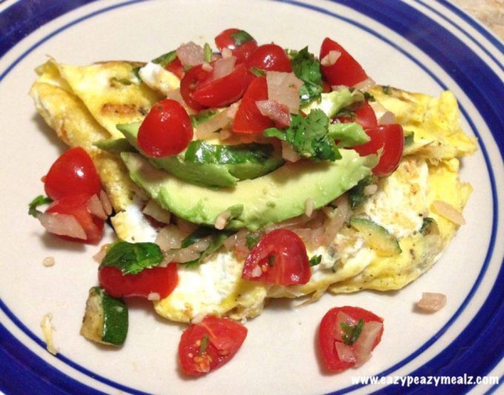 clean eating omelet