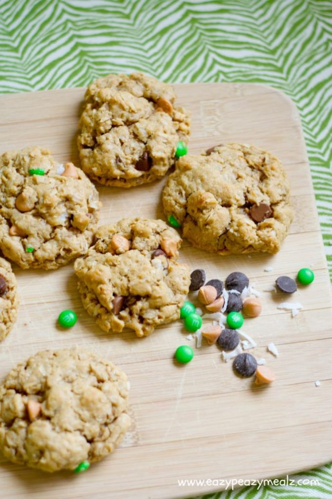cookies, monster oat