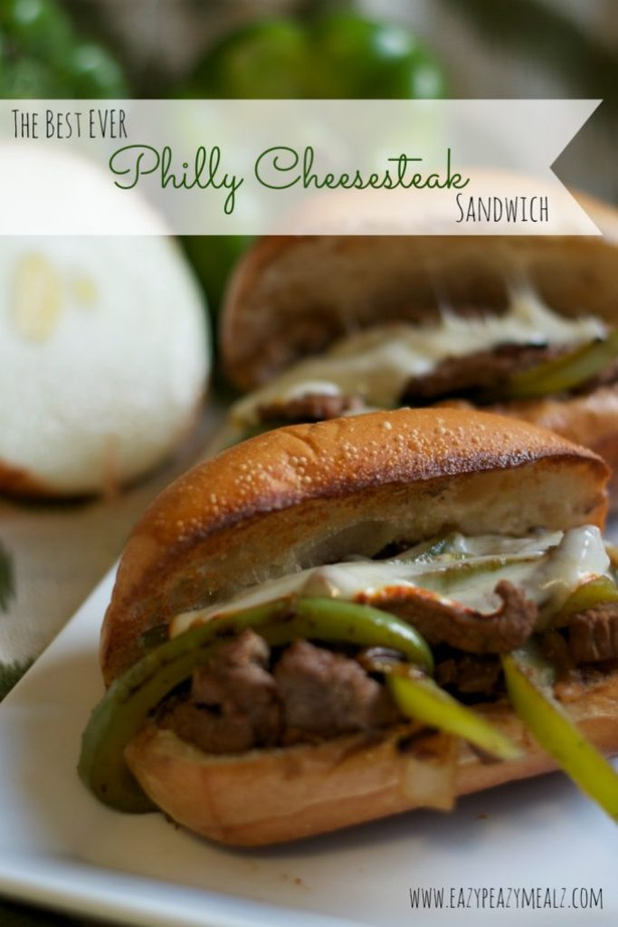 the best ever philly cheesesteak sandwich