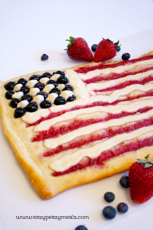 flag breakfast pastry