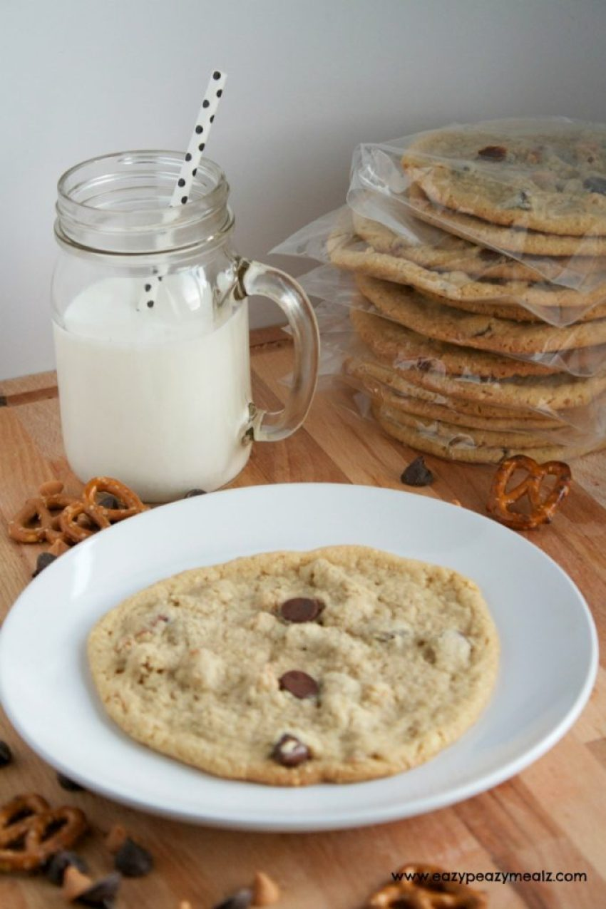 Back to school chip in cookies