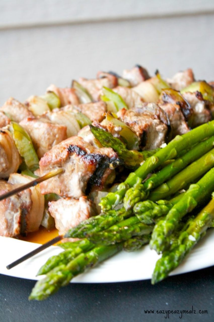 Kabob Marinade: A sweet and tangy marinade makes these beef kabobs tender and tasty, and the ideal grill meal!