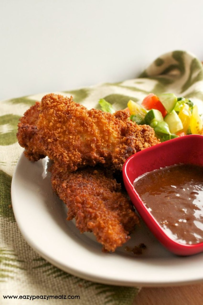 crispy fried chicken tenders
