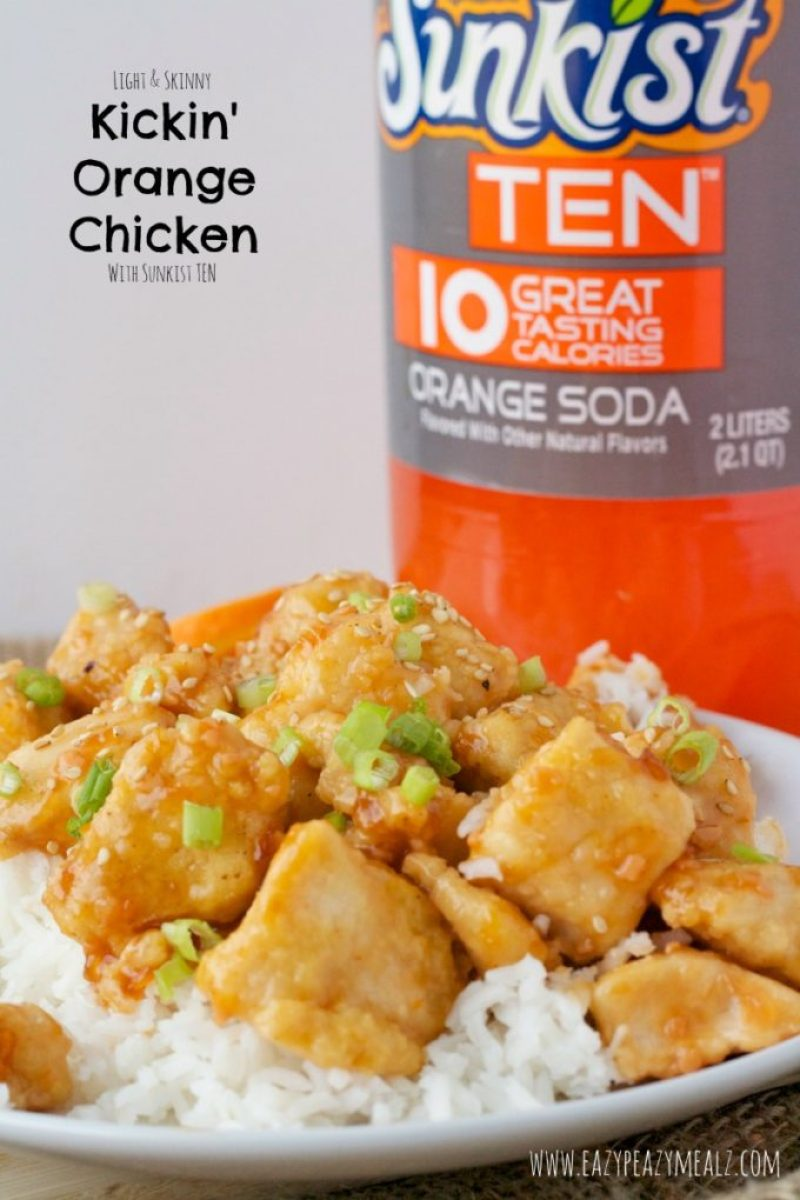 Kickin' Orange Chicken