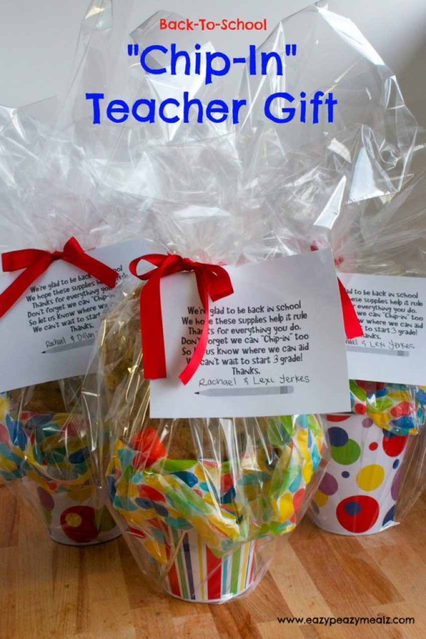 chip-in teacher gift