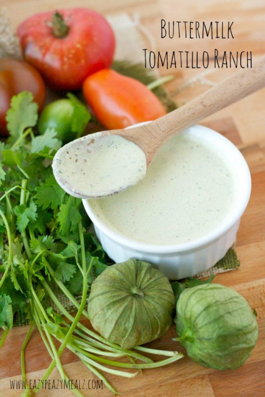 buttermilk tomatillo ranch dressing