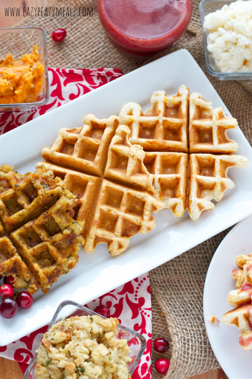 thanksgiving waffles