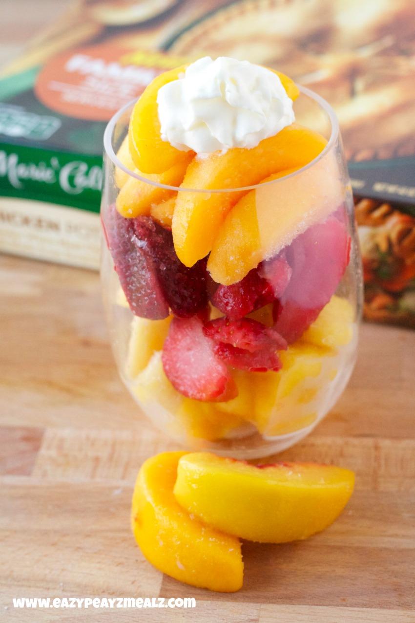 frozen fruit parfait