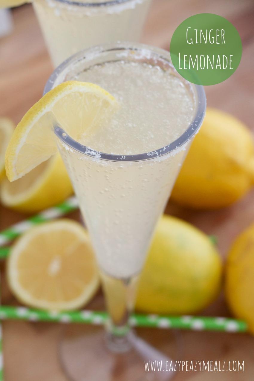 ginger lemonade #CanadaDryGingerAle #ad