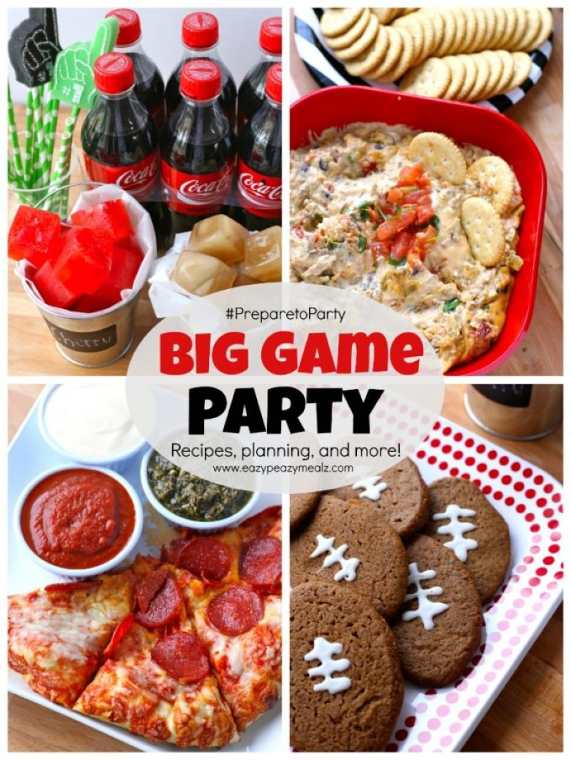 BIG Game Party #preparetoparty