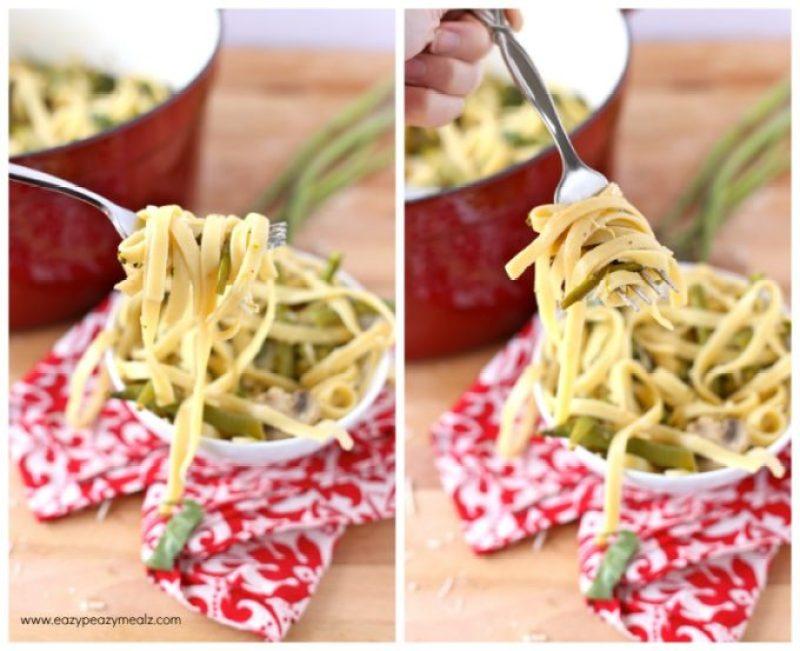 Bite of Pasta Primavera