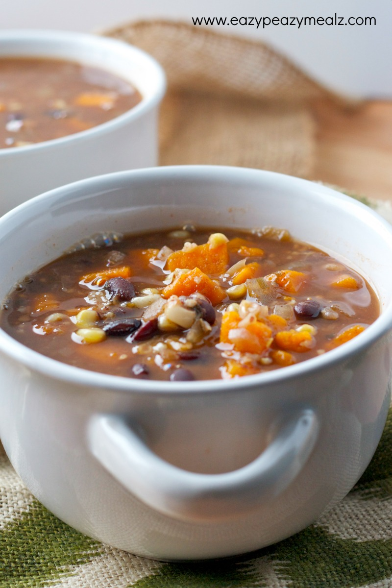 black bean soup from slow cooker