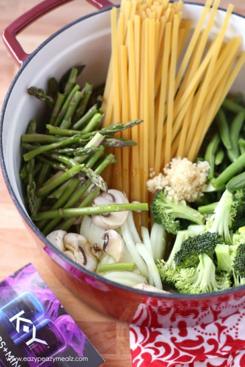 one pot pasta date night