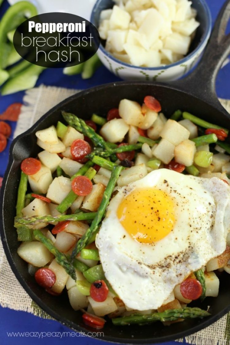 pepperoni breakfast hash recipe