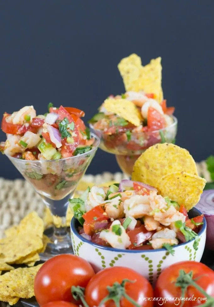 shrimp ceviche is such a tasty snack