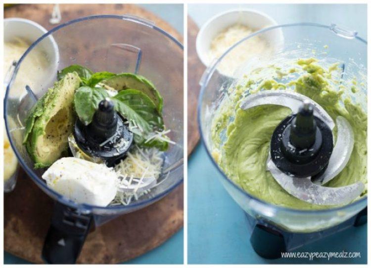 creamy avocado sauce