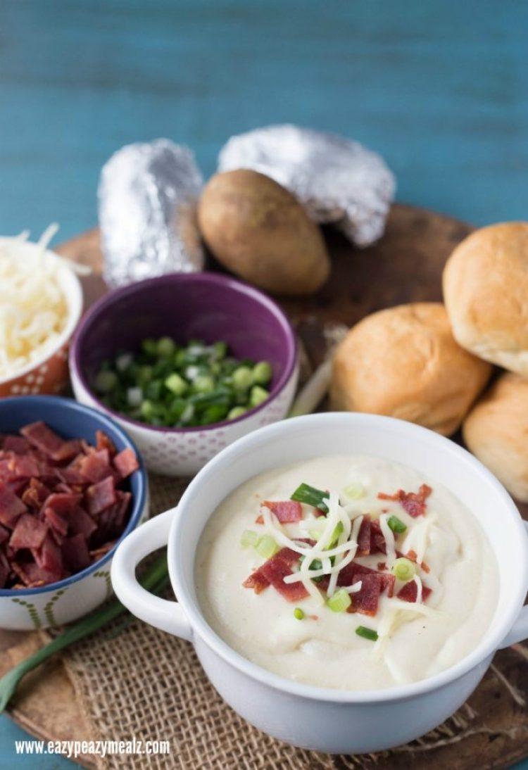 potato soup bowl