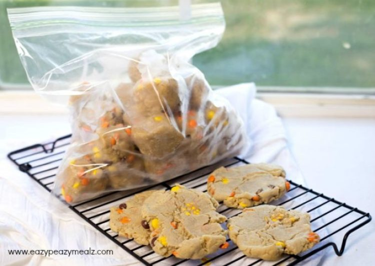 Peanut Butter freezer cookies