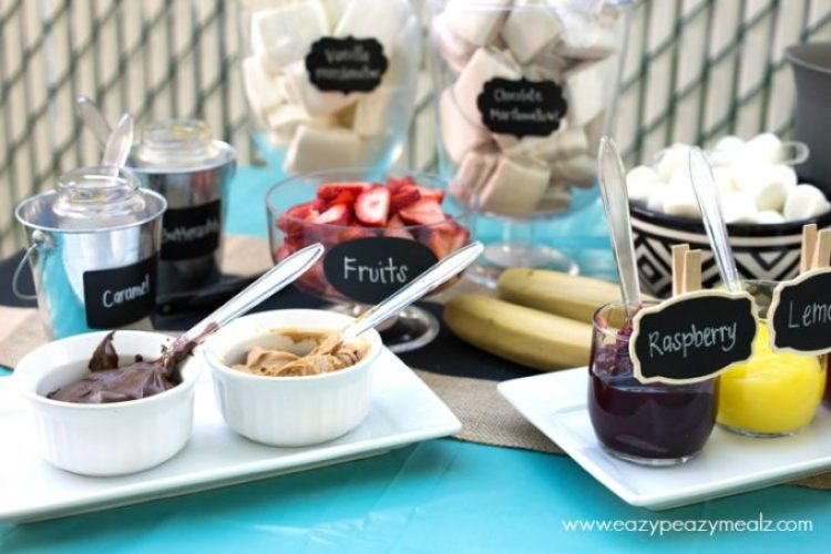 Smores bar with nut butters