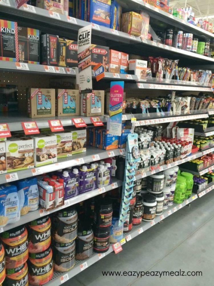 protein aisle