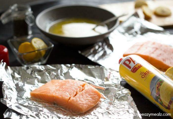 Salmon-on-foil