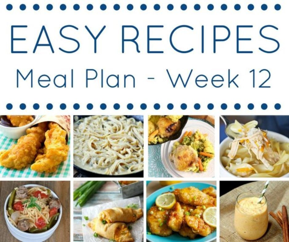 Meal Plan and Recipe Planning tool