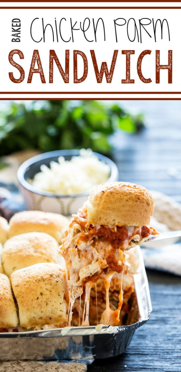 A flavorful and easy to make chicken parm bake, great for weeknight dining!
