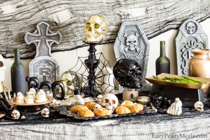 A spooky halloween party with recipes, fun, and games!