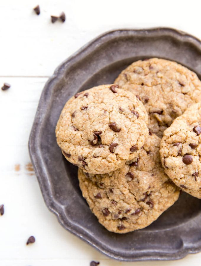 Whole Wheat Chocolate Chip Cookies are delicious and simple