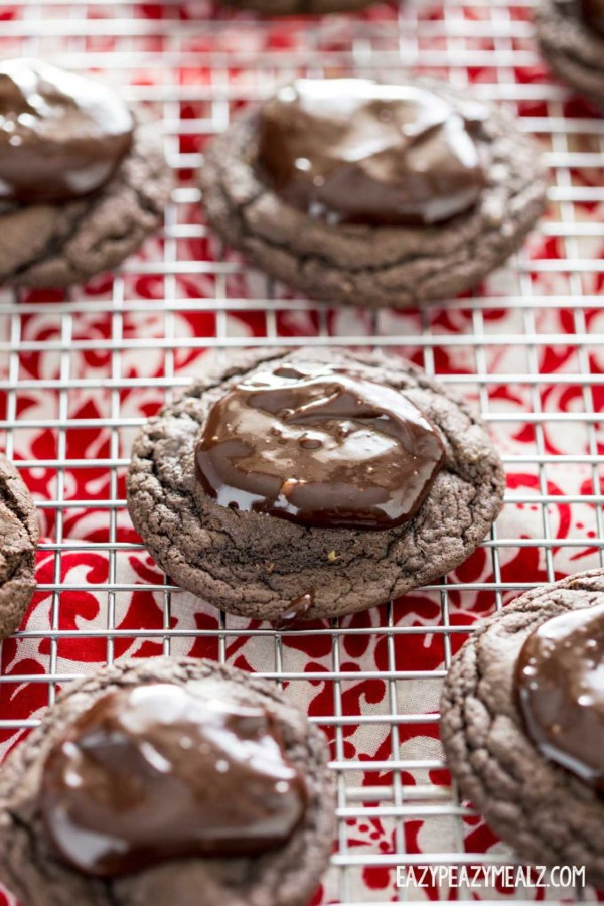 ganache-topped-cookies-cake-mix
