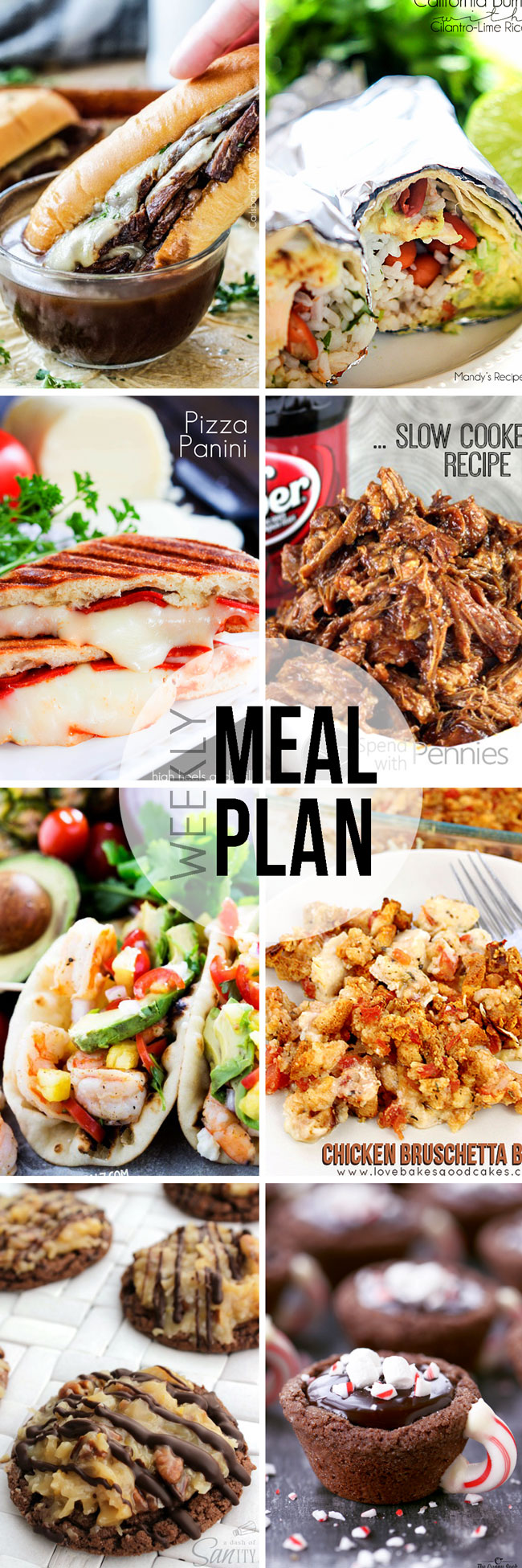 A week's worth of delicious recipes to make meal planning easier.