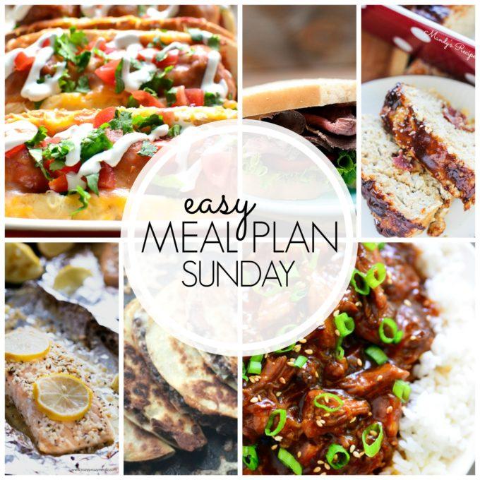 Meal plan recipe planning