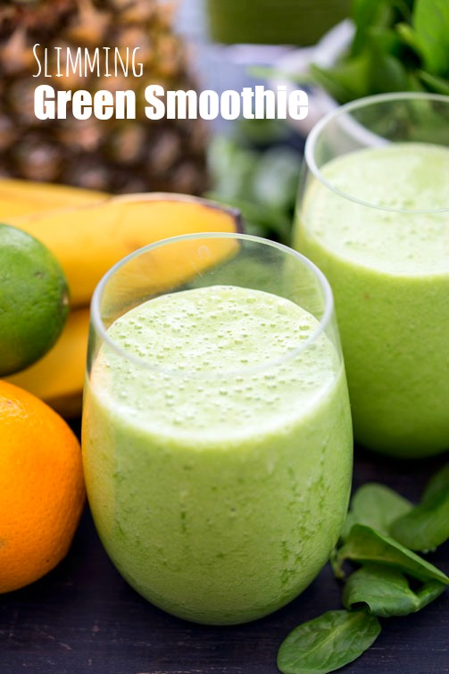 Slimming green smoothie