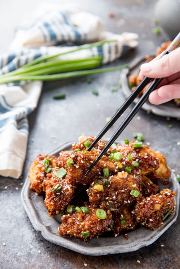 Sticky Chicken Bites Easy Peasy Meals