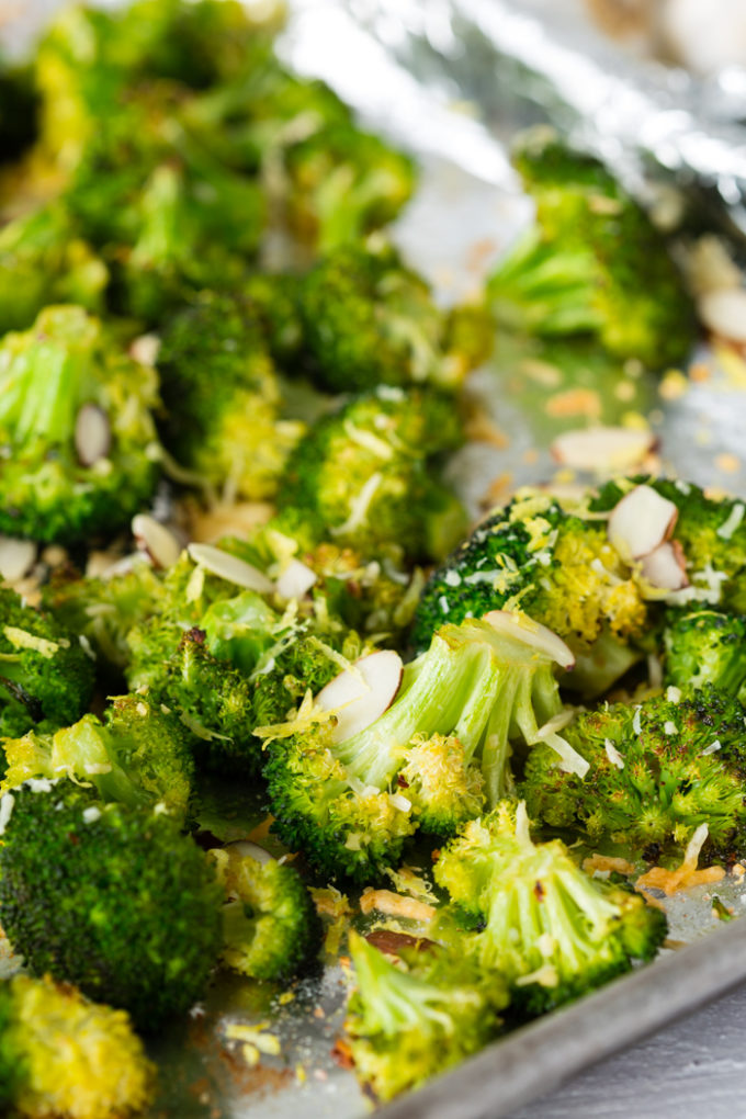 best ever broccoli on a pan
