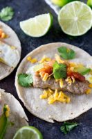 Easy to make sausage and egg breakfast tacos