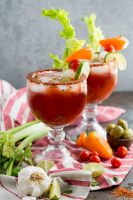 A not so bloody mary, or a virgin michelada