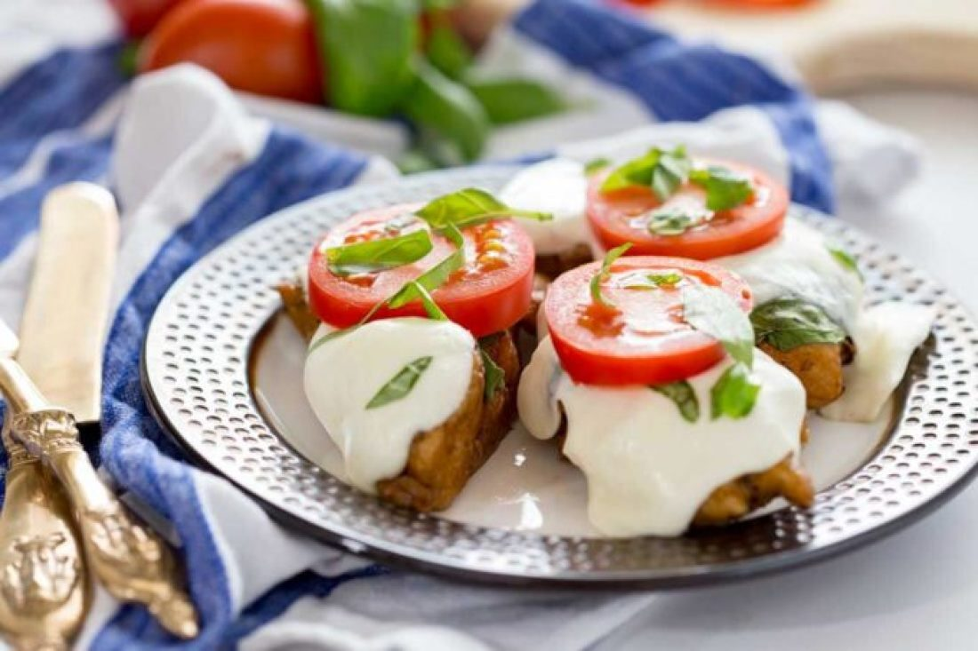 Caprese balsamic chicken reicpe