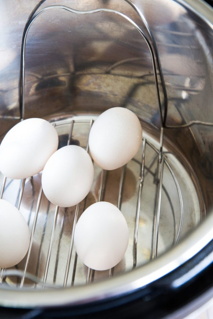 How to hard boil eggs in a pressure cooker