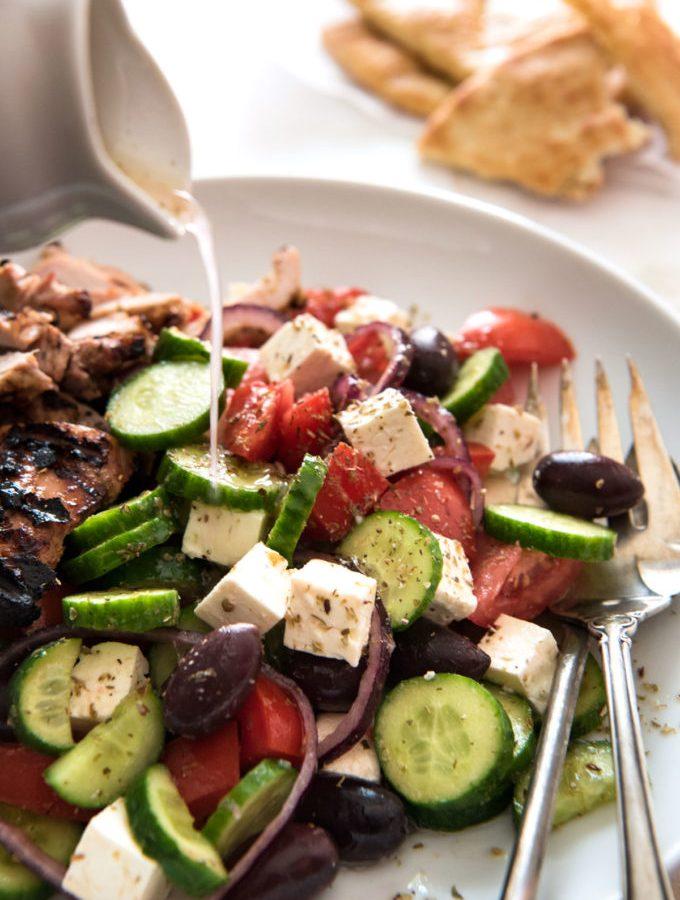 Classic Easy Greek Salad