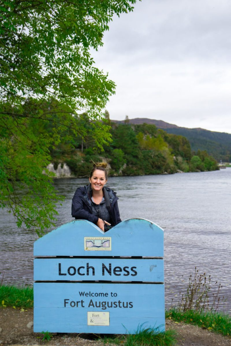 Visiting Loch Ness, but did not see any monster. Bummer
