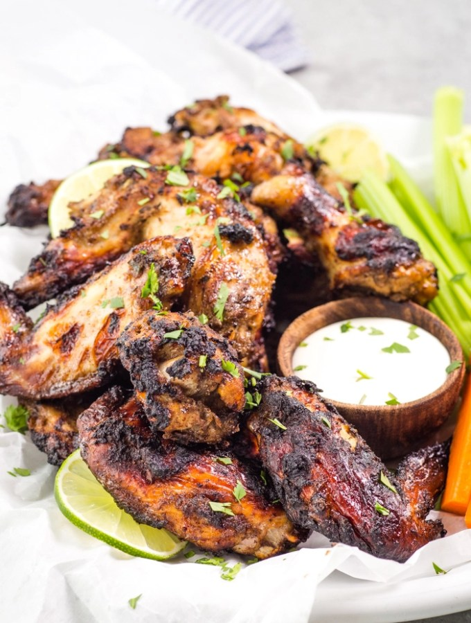 Jamaican Jerk Chicken Wings
