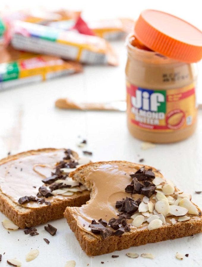 JIF bars and spreads make a great grab and go breakfast