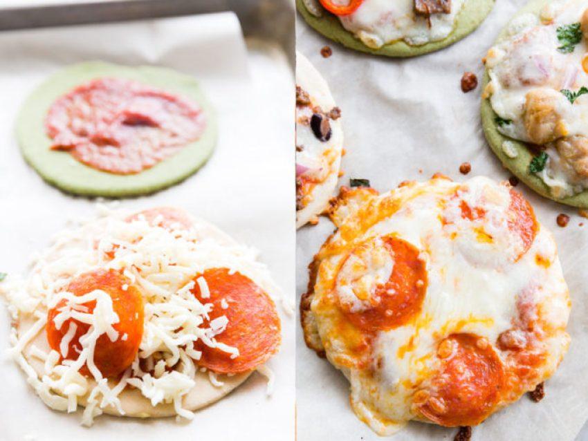 A classic pepperoni pizza