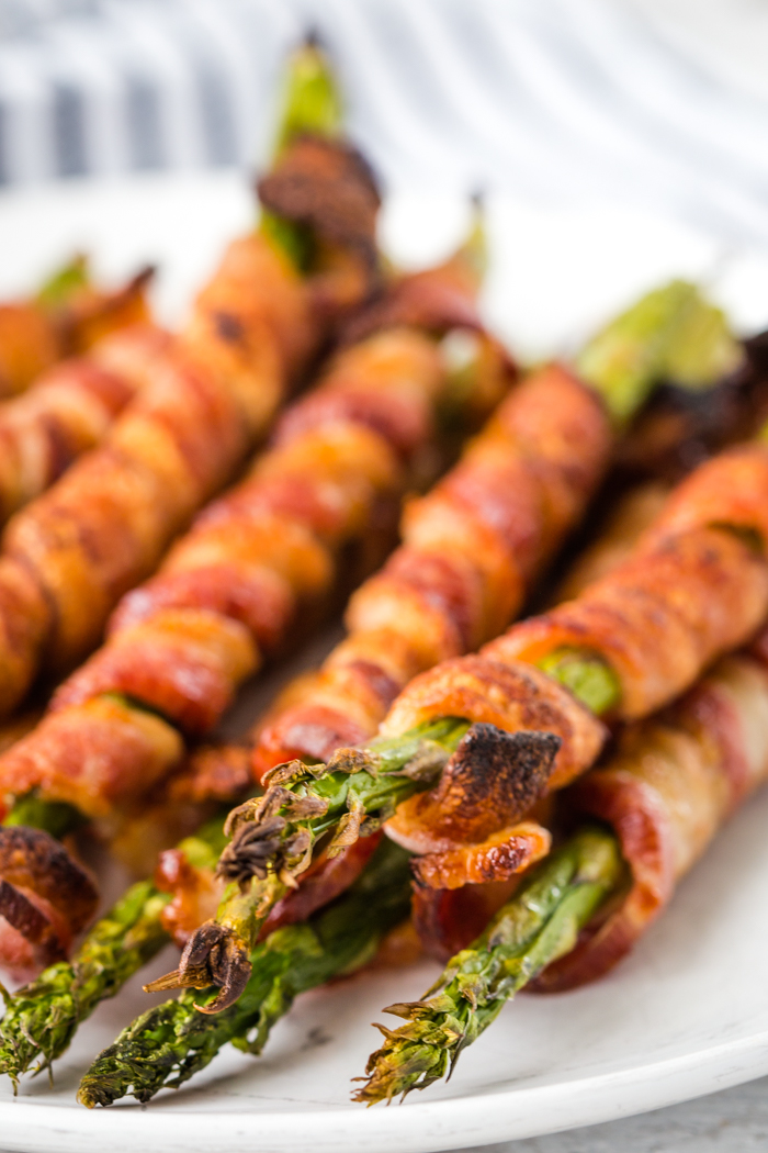 How to make bacon wrapped asparagus in the oven