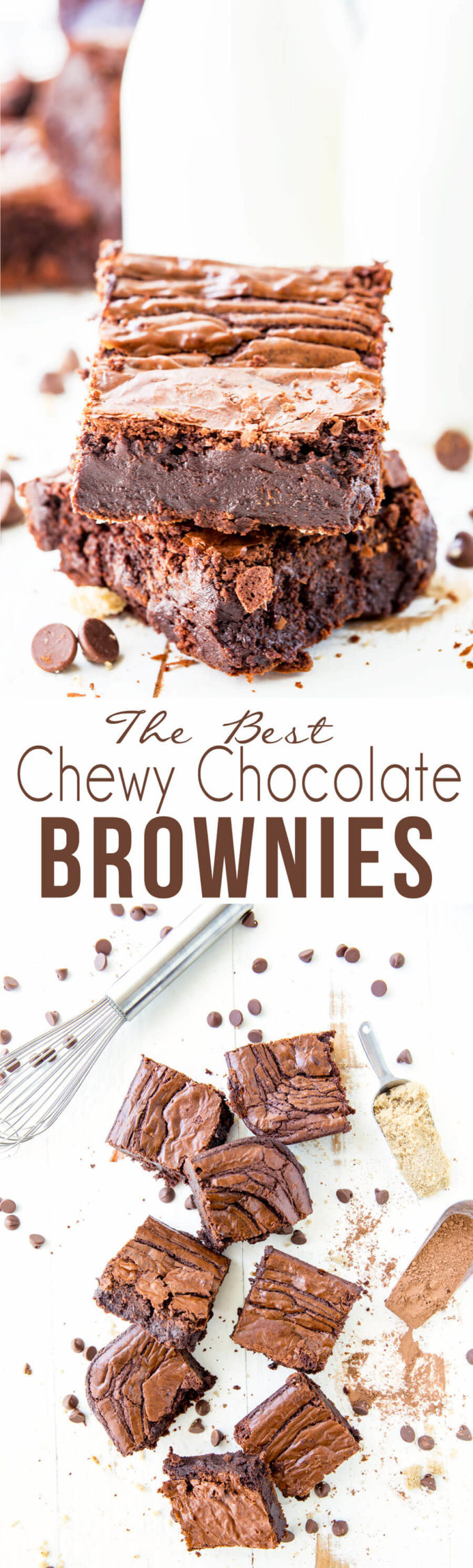 The best chewy chocolate brownies: These are the right kind of indulgence.